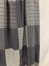 Load image into Gallery viewer, The Executive Woman size 14 Women's Skirt Gray Black White lines squares