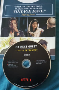 My Next Guest Needs No Introcuction with David Letterman 2018 Emmy For Your Consideration DVD