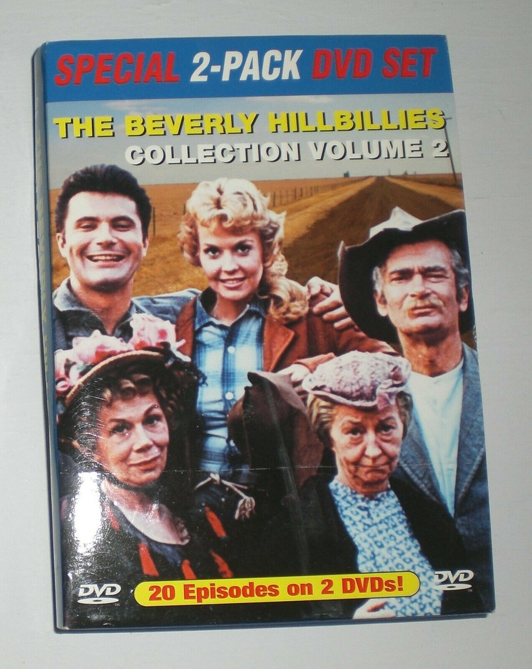 The Beverly Hillbillies - TV Classics (DVD  2003, 2 Disc)  In slip jacke