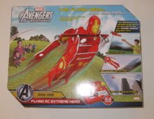 Load image into Gallery viewer, NIB Marvel Avengers Assemble Iron Man Flying RC Extreme Hero