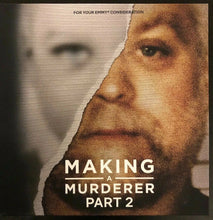 Load image into Gallery viewer, FYC 2019 Making a Murderer Part 2 DVD NETFLIX