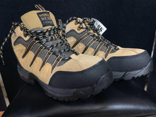 Load image into Gallery viewer, NIB WORK WEAR BY Wrangler Taupe Jameson Steel Toe BOOTS Size 8.5 M