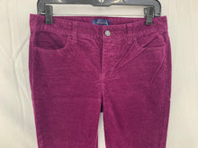 Load image into Gallery viewer, Talbots Women sz 4L Egg Plant Purple Corduroy Heritage 4 Pocket Pant Cotton Stre