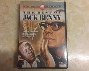 The Best Of Jack Benny 40 Episodes Television Classics (DVD 2007-4