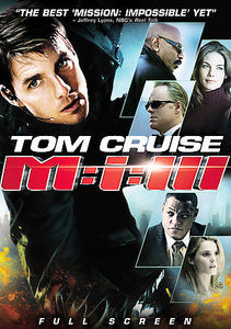 Mission: Impossible III (DVD 2006,  Fullscreen Region 1) Tom Cruise