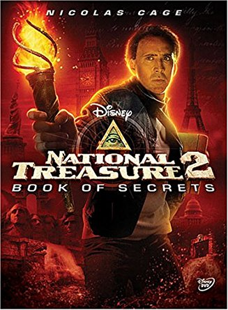 Walt Disney National Treasure 2 : Book of Secrets (DVD, 2008)