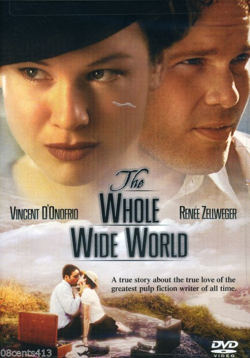 The Whole Wide World (DVD, Widescreen 2003) 1996 Vincent D'Onofrio Renee