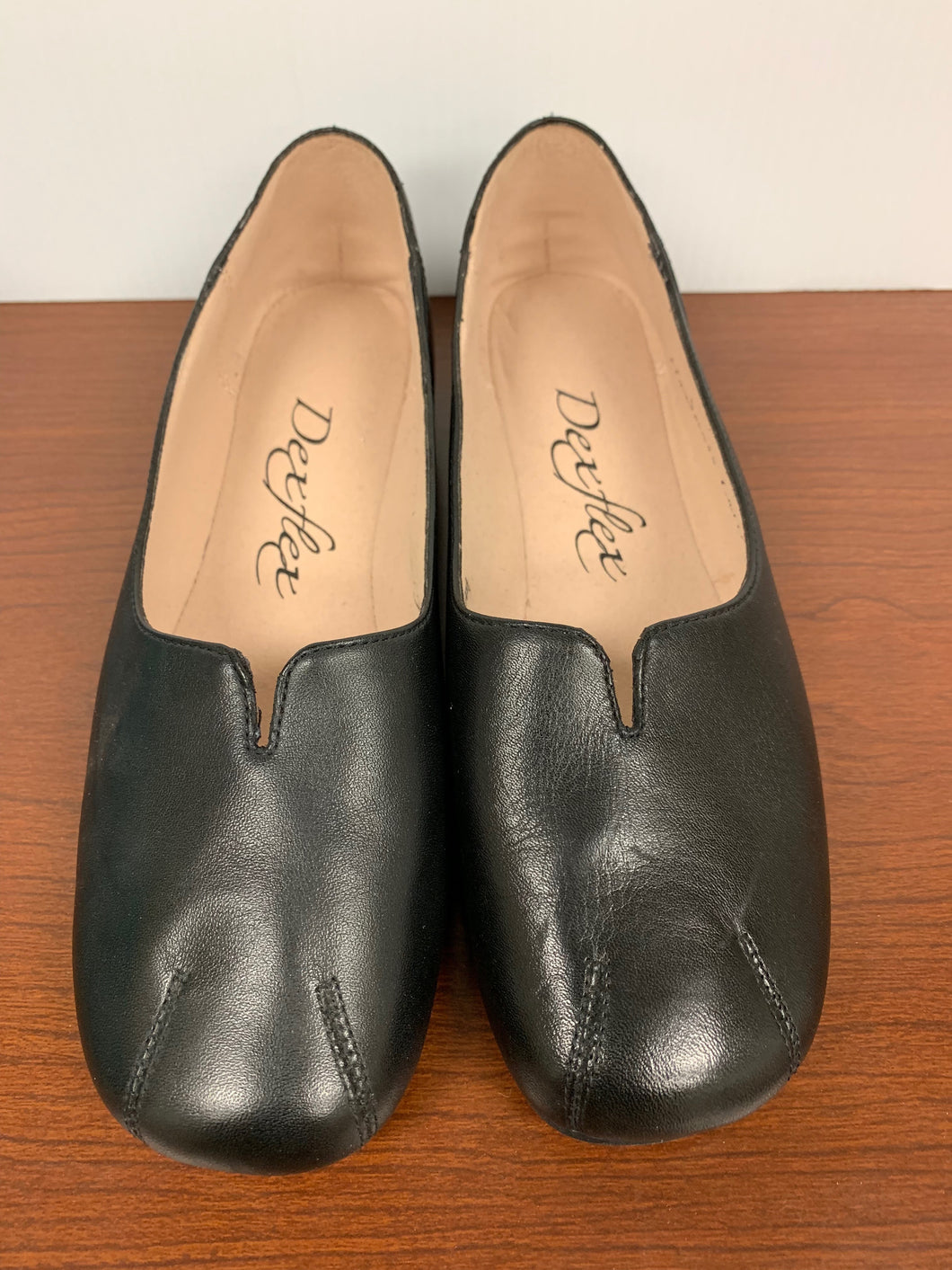 NEW Dexflex Black Handmade Entirely Shoes size 6.5