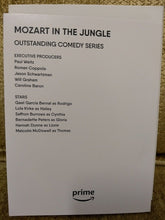 Load image into Gallery viewer, Mozart In The Jungle -2018 For Your Consideration-(DVD-2 disc) Axazon P