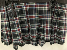 Load image into Gallery viewer, Tripp NYC Daang Goodman size 16 Skirt High Low Tartan Plaid Pleated Black Red Bl