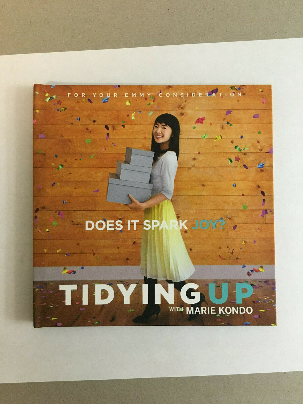 FYC 2019 EMMY TIDYING UP with MARIE KONDO Dvd-1 Netflix