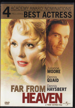 Load image into Gallery viewer, Far From Heaven (2003) Julianne Moore, Dennis Quaid, Dennis Haysbert