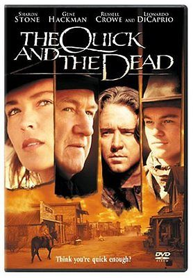 The Quick and the Dead (DVD 2005)  Gene Hackman, Sharon Stone, Russell C