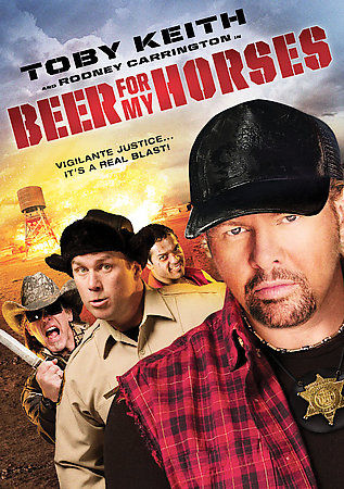 Beer for My Horses (DVD, 2008) Toby Keith, Rodney Carrington