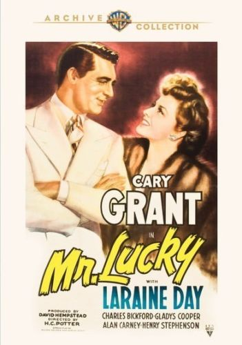 USED-Mr. Lucky 1943 (DVD)  Cary Grant, Laraine Day, Charles Bickford