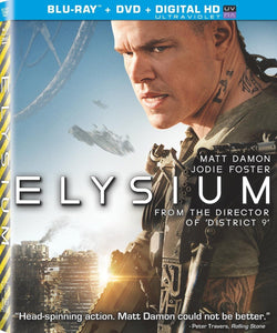 USED-Elysium (Blu-Ray / DVD / UltraViolet, 2 Disc Set)