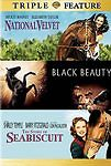 National Velvet / Black Beauty / SeaBiscuit-Triple Feature  (DVD)