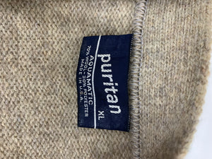 Puritan Vintage Wool Sweater Vest XL