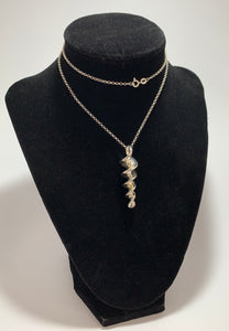 RLM Studio Sterling Silver Swirl Screw Pendant Necklace RLM Studio