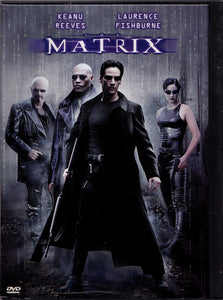 NEW The Matrix( DVD 2001) Keanu Reeves Laurence Fishburne