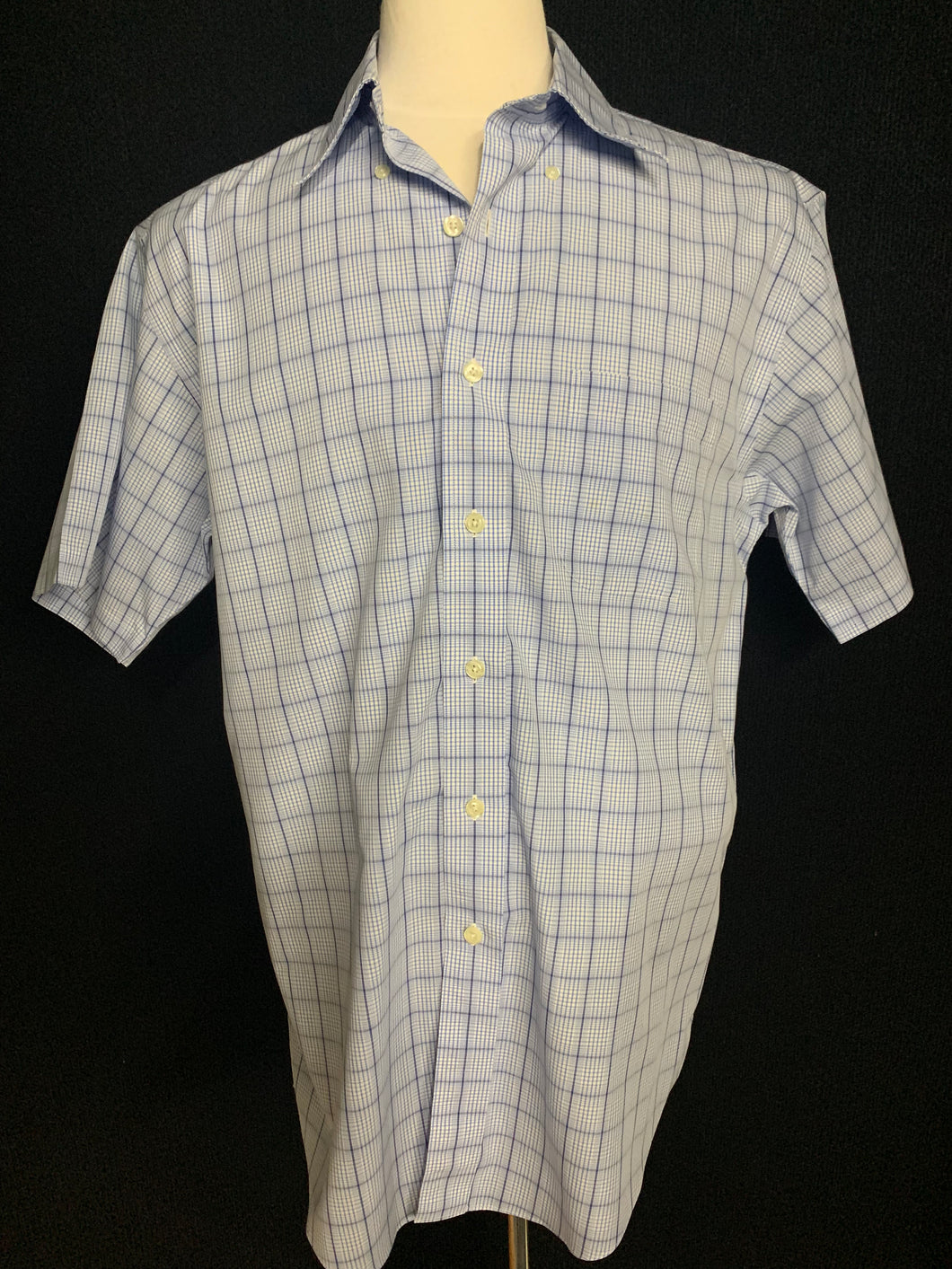 Men's Brooks Brothers 346 The Origional Fit Button Down Polo Short Sleeve Shirt