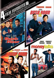 4 Film Favorites –Chris Tucker Rush Hour, Rush Hour 2, Rush H