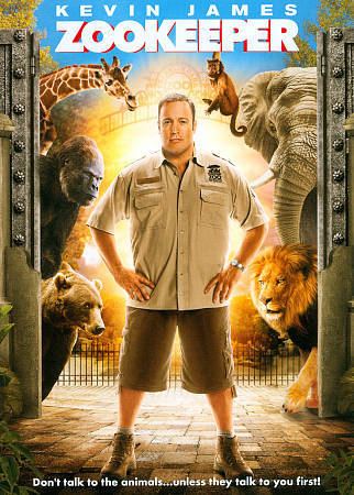 Zookeeper Zoo Keeper (DVD, 2011) Kevin James