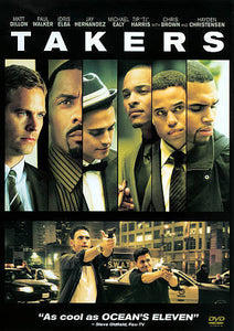 Takers (DVD 2011 WS) Matt Dillon Paul Walker Jay Hernandez Chris Brown