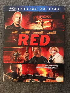 USED-Red Blu-ray Special Edition  In slip jacket