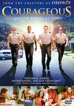 Courageous : Honor Begins at Home (DVD 2012 W/S)
