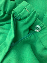 Load image into Gallery viewer, Vintage 1970's Cos Cob Green A Line Skirt Retro