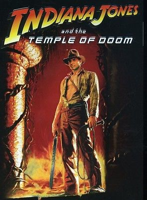 USED-Indiana Jones and the Temple of Doom (DVD 1984 Widescreen) Region 1