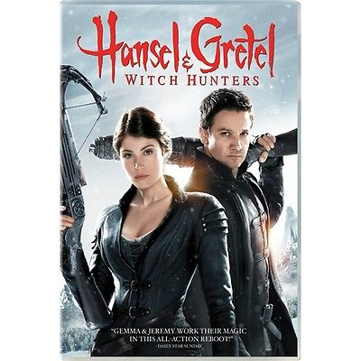 Hansel And Gretel: Witch Hunters (DVD, 2013) Jeremy Renner/Gemma Arterton