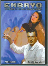 Load image into Gallery viewer, EMBRYO DVD Rock Hudson Barbara Carrera Diane Ladd Roddy McDowall