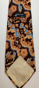Vintage Towncraft All Acetate Abstract Tie Made for Penney's 56""