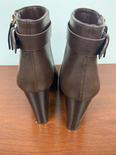 Load image into Gallery viewer, NEW FOREVER 21 brown ankle Boots size 5.5