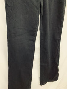 NXD YJ Los Angeles size 0 Black Boot Cut Origional Slimming Fit