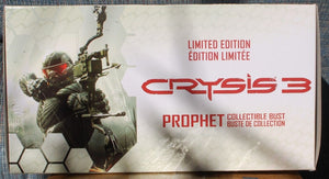 NEW Crysis 3 Prophet Collectible Bust De Collection Limited Edition  GAMEF RGED