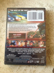 NEW Fast and Furious  (DVD 2009 PROMO)