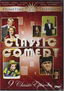 CLASSIC COMEDY PRIME TIME TELEVISION DVD 9 CLASSIC EPISODES LUCY, 3 STOOGES, JAC