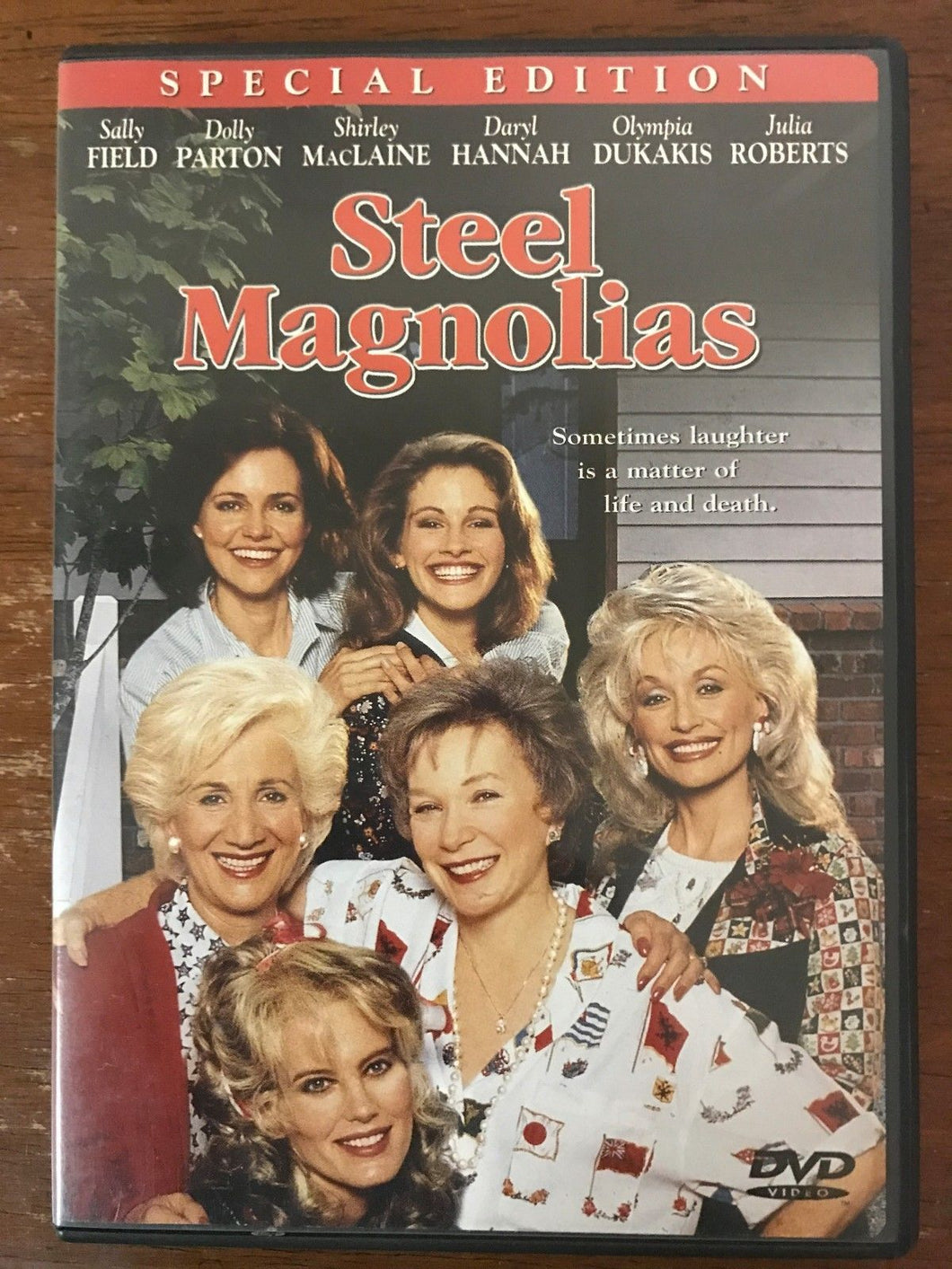 Steel Magnolias (DVD, 2000) Julia Roberts/Sally Field/Shirley MacLaine