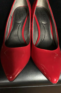 NEW Life Stride Flex Kitten Heel Pointed Toe Shoes size 7.5