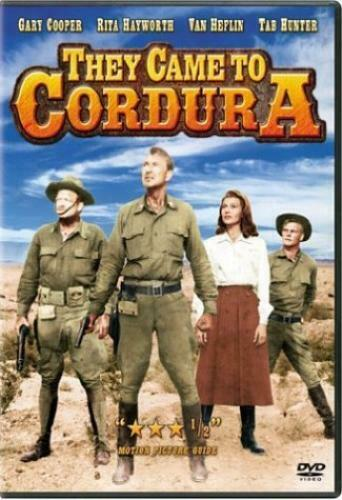 NEW They Came to Cordura (DVD) Gary Cooper, Rita Hayworth, Van Heflin, Tab Hunte