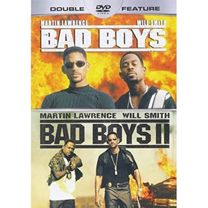 Bad Boys / Bad Boys 2-Double Feature (DVD 2013) Will Smith, Martin Lawre