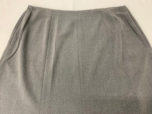 East 5th Women's Skirt Size 14 Heather Gray A-Line Flare Bottom Career Work