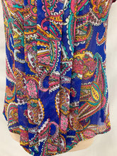 Load image into Gallery viewer, Banana Republic Women's Sleeveless Floral Paisley Pullover Top Blouse Size XS