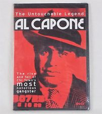 Al Capone: The Untouchable Legend (DVD 2005 B&W DIGVIEW Productions)