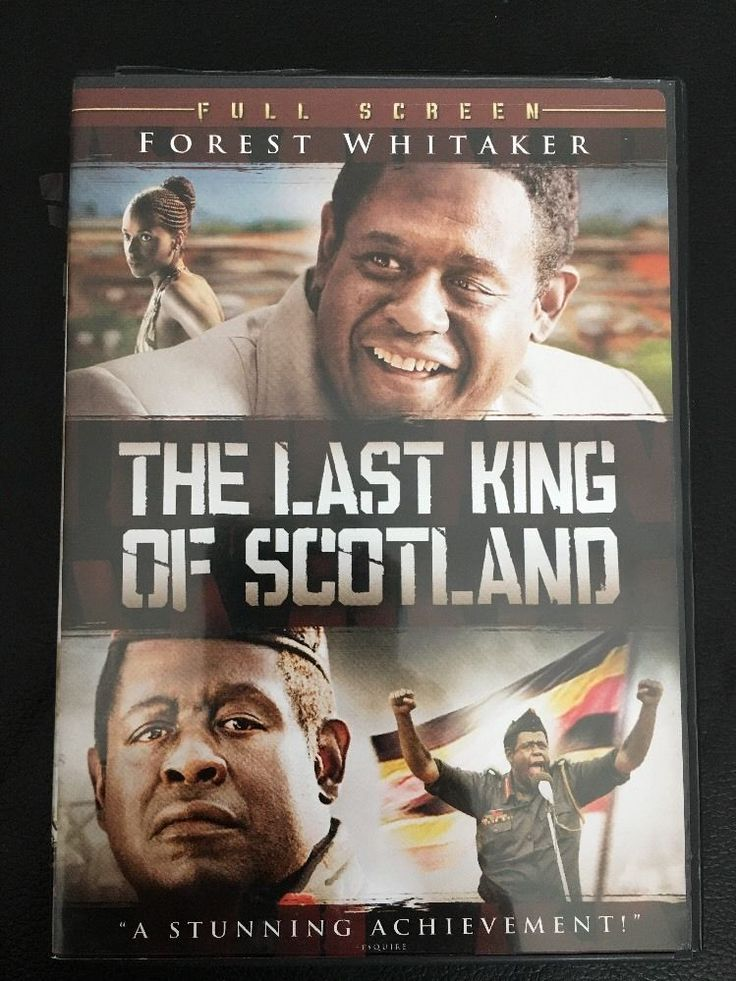 The Last King of Scotland (DVD, 2007, Full Frame)  Forest Whitaker-Acade
