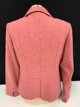 Load image into Gallery viewer, Talbots dusty rose pink wool blazer sz 10