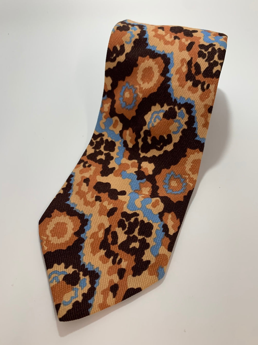 Vintage Towncraft All Acetate Abstract Tie Made for Penney's 56